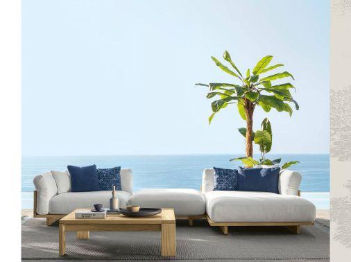 Pergotenda grigliati in legno mobili da giardino for Divani da terrazzo