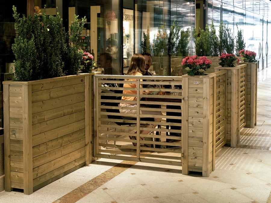 Pergotenda grigliati in legno mobili da giardino for Zanotti mobili