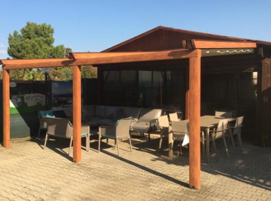 Pergotenda - Grigliati in Legno - Mobili da giardino - Gazebo ...